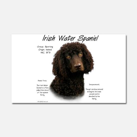 Irish Water Spaniel Car Magnet 20 x 12
