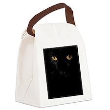 ipad2_Le Chat Noir Canvas Lunch Bag