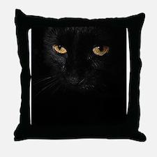 ipad2_Le Chat Noir Throw Pillow