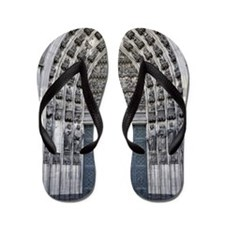 Close Up of Cologne Cathedral Flip Flops