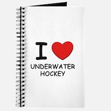 I love underwater hockey Journal