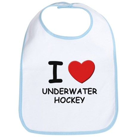 I love underwater hockey Bib