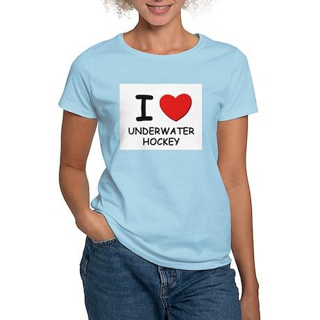 I love underwater hockey Women's Light T-Shirt