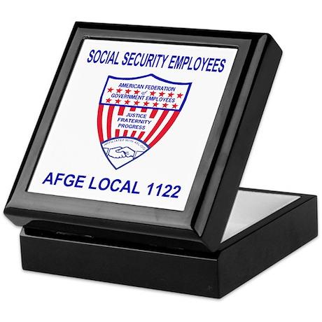 Memento Keepsake Box For AFGE Local 1122