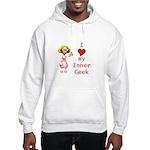 Inner Geek Girl Hooded Sweatshirt