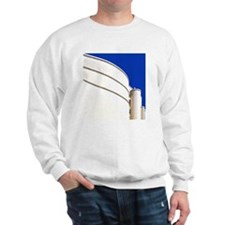 Modern building with blue sky Sweatshirt