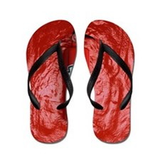 Tomato Ketchup Flip Flops