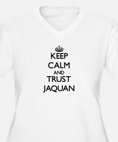 Keep Calm and TRUST Jaquan Plus Size T-Shirt