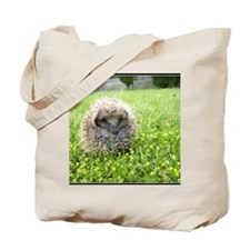 Hedgehog in spring Tote Bag