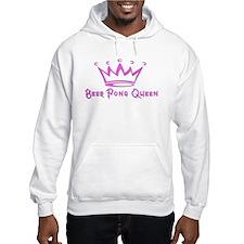 Beer Pong Queen Hoodie