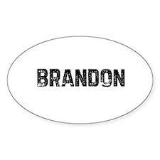 Brandon Oval Decal