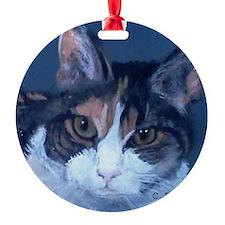 Tortoise Shell Cat Ornament