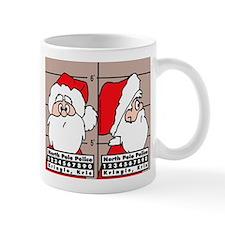 Santa's Mug Shot Coffee Mug