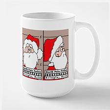 Santa's Mug Shot Mug