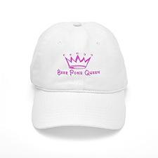 Beer Pong Queen Baseball Cap