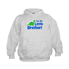 I'm The Little Brother! Dinos Hoodie