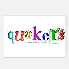 quakers- cooler Postcards (Package of 8)