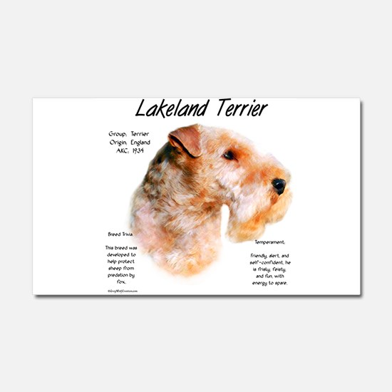 Lakeland Terrier Car Magnet 20 x 12
