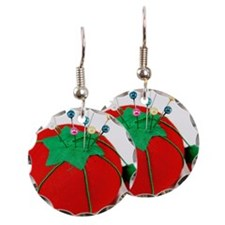 Old fashion pincushion Earring