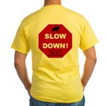 SLOWDown Yellow T-Shirt