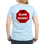 SLOWDown Women's Pink T-Shirt