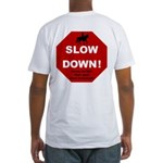 SLOWDown Fitted T-Shirt
