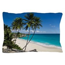 Unspoiled and secluded tropical beach, Pillow Case