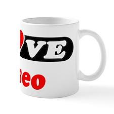 I Love Eliseo Mug