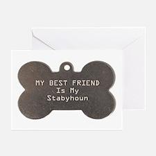 Stabyhoun Friend Greeting Cards (Pk of 10)