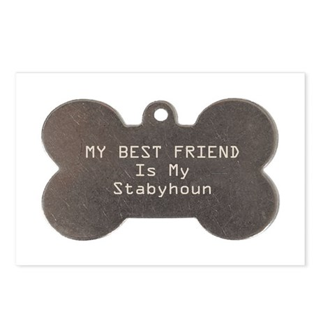 Stabyhoun Friend Postcards (Package of 8)