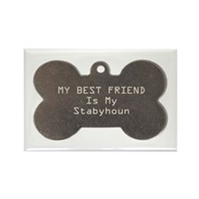 Stabyhoun Friend Rectangle Magnet