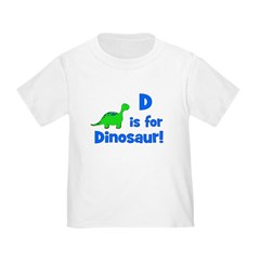 D is for Dinosaur! T