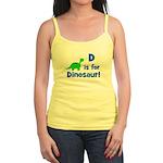 D is for Dinosaur! Jr. Spaghetti Tank