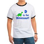 D is for Dinosaur! Ringer T