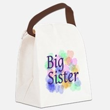 Big Sister Canvas Lunch Bag