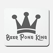 Beer Pong King Mousepad