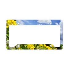 Weeping Lantana Camara License Plate Holder