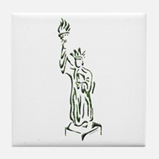 New York: Statue of Liberty Tile Coaster