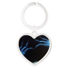 Heart Shape X-Ray Heart Keychain