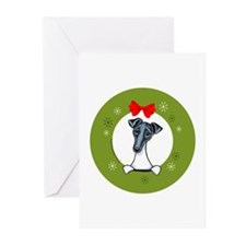 Smooth Fox Terrier Christmas Greeting Cards 20 pk