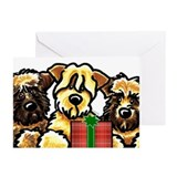 Soft coated wheaten terrier Greeting Cards (20 Pack)