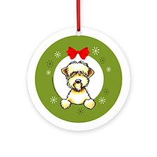 Soft Coated Wheaten Terrier Christmas Ornament (Ro