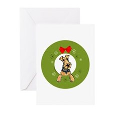 Welsh Terrier Christmas Greeting Cards (Pk of 10)