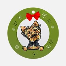 Yorkshire Terrier Yorkie Lover Christmas Ornament