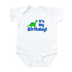 It's My Birthday! Dinosaur Infant Bodysuit