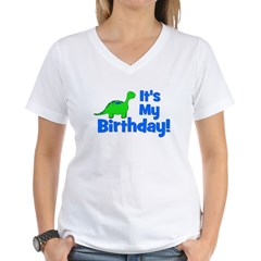 It's My Birthday! Dinosaur Shirt