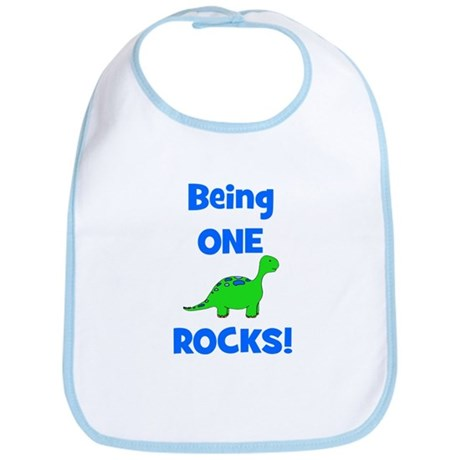 Being One Rocks! Dinosaur Bib