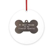 Tibbie Friend Ornament (Round)