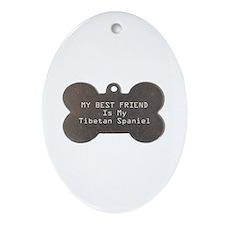 Tibbie Friend Oval Ornament