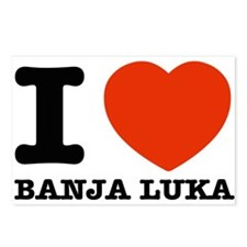 I LOVE Banja luka Postcards (Package of 8)